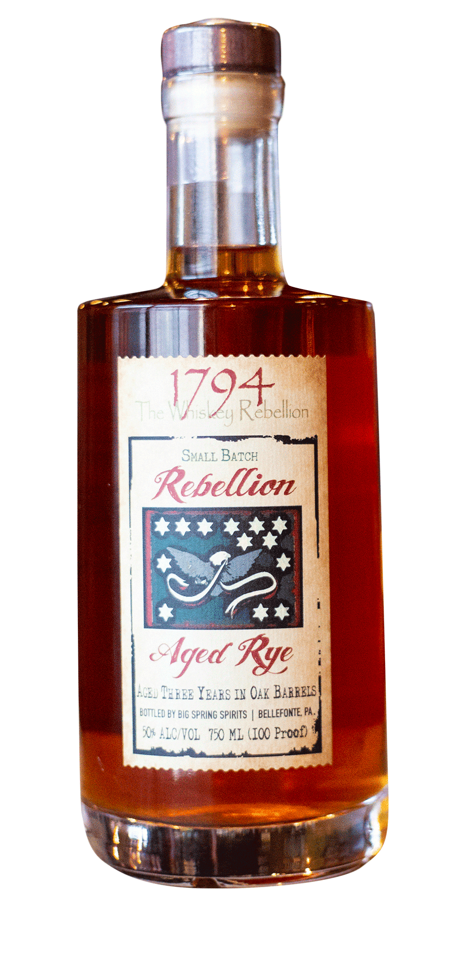 1794 The Whiskey Rebellion Aged Rye