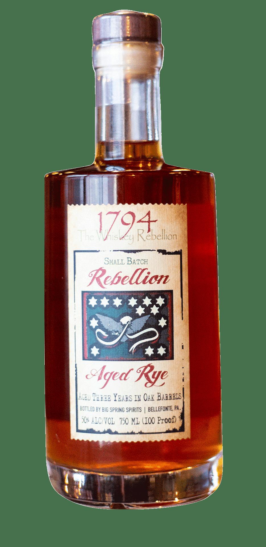 1794 The Whiskey Rebellion Aged Rye