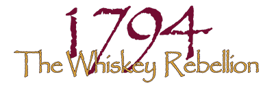 1794 the Whiskey Rebellion logo small