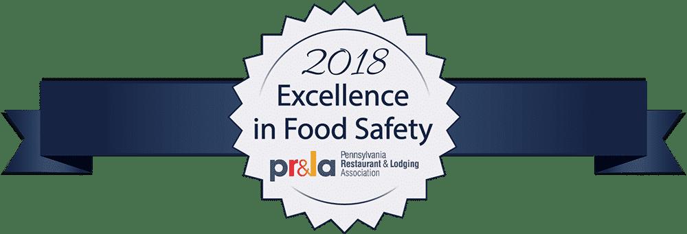 2018 PRLA Food Safety Award