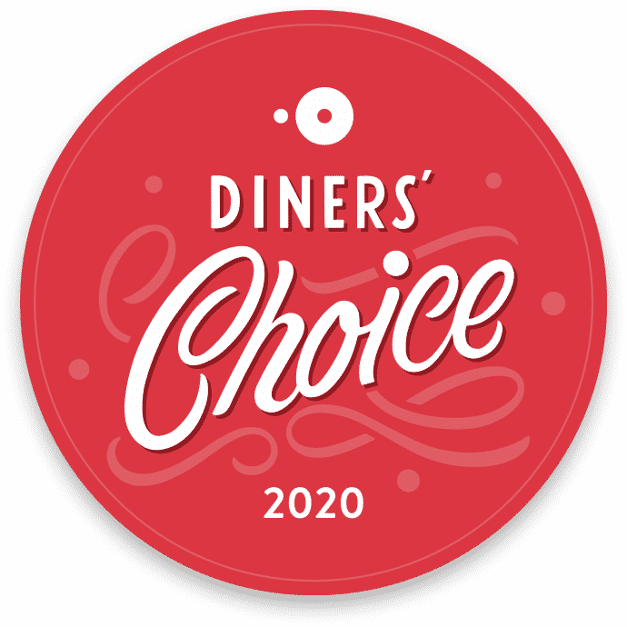 2020 Diners' Choice Award